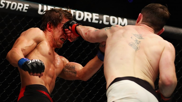 Darren Till punches Bojan Velickovic