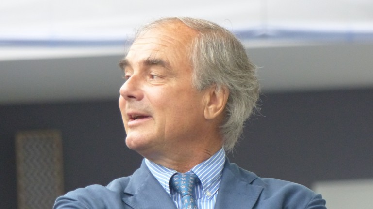 Pascal Bary: aiming for Prix du Jockey Club instead