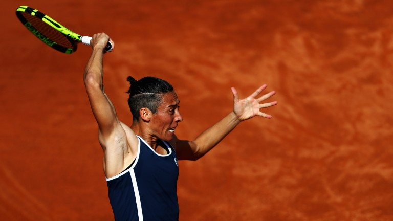 2010 champ Francesca Schiavone looks fit as a fiddle for her latest Roland Garros visit