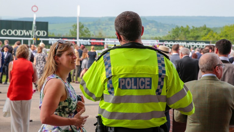 Goodwood paid to have police officers attend Saturday's meeting