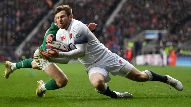 Elliot Daly makes his first start at full-back for England