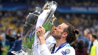 Gareth Bale starred in Real Madrid's Champions League success