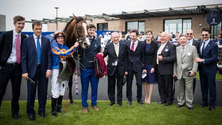 Connections with Lancaster Bomber after he landed his first Group 1 prize