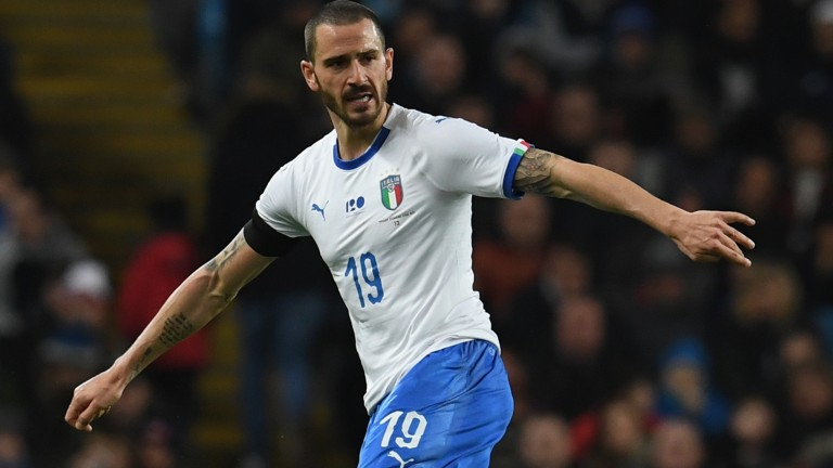 Leonardo Bonucci is in the Italy squad