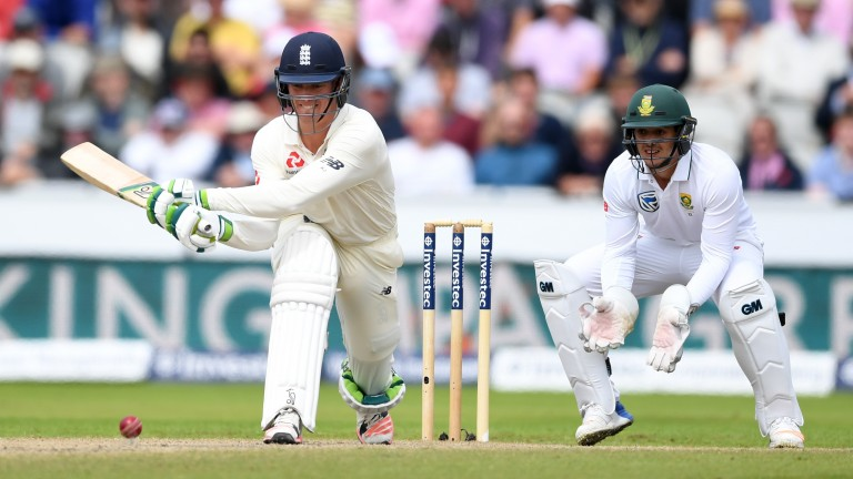 Keaton Jennings was dropped by England after a lean series against South Africa last summer