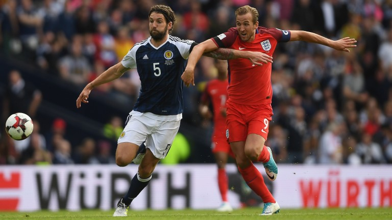 Charlie Mulgrew (left) is part of Scotland's jolly to South America