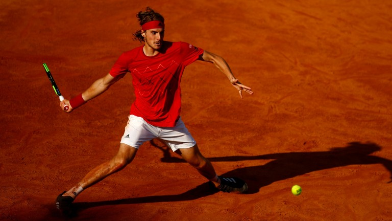 Stefanos Tsitsipas is enjoying a breakthrough season