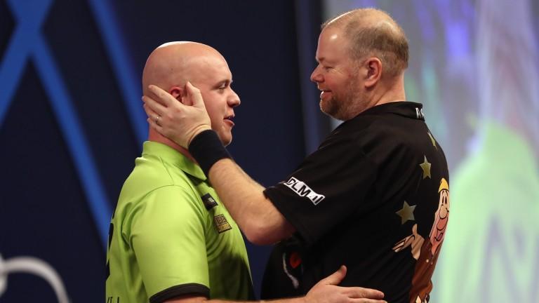 Dutch aces Michael van Gerwen and Raymond van Barneveld could dominate in Frankfurt