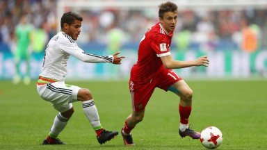 Aleksandr Golovin carries Russia's hopes on his shoulders