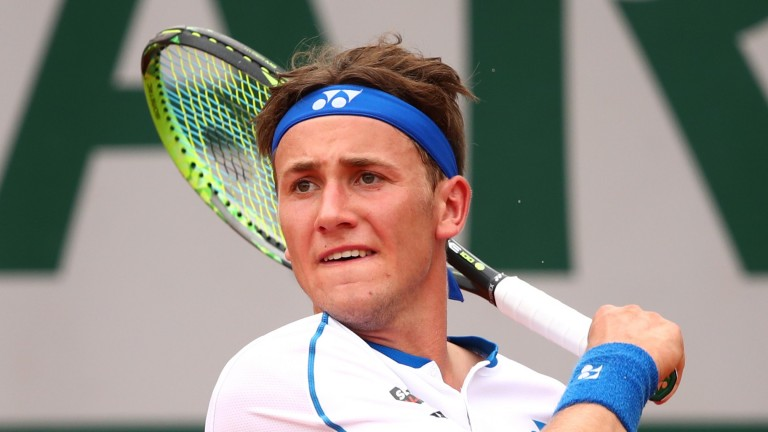 Casper Ruud could keep it close against Albert Ramos-Vinolas who has not been at his best