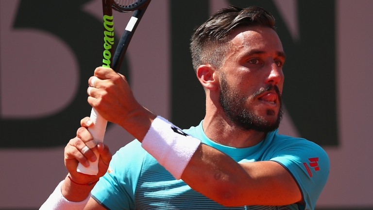 Damir Dzumhur may be ready to trouble Madrid champion Alexander Zverev