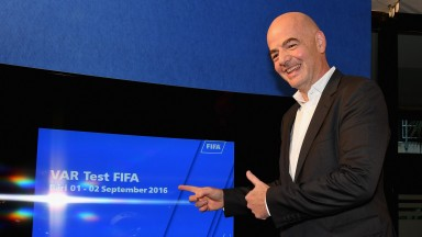 Fifa President Gianni Infantino has given the thumbs up to VAR