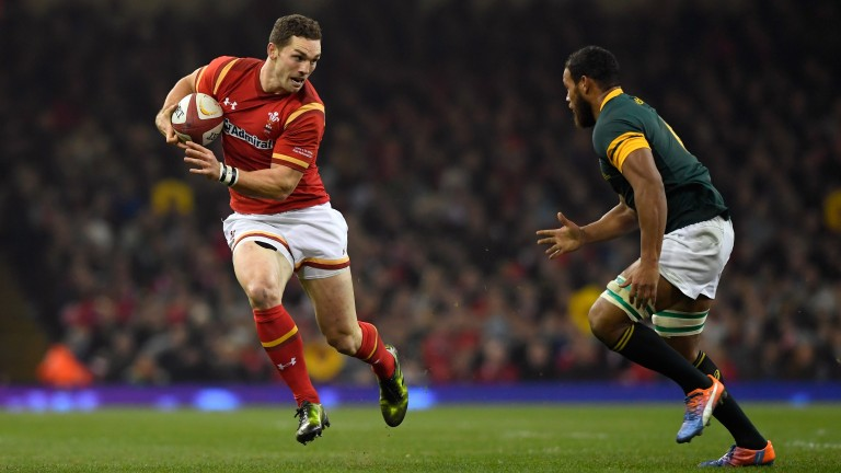 George North lines up at centre for Wales against South Africa