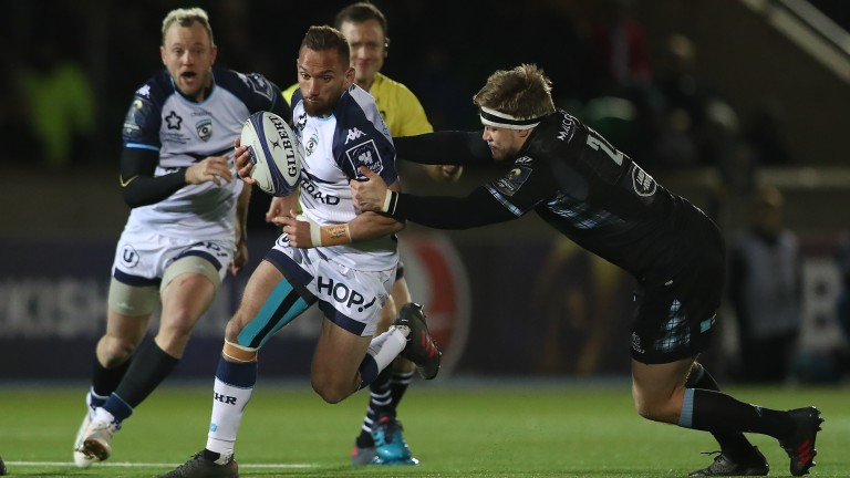Former All Blacks fly-half Aaron Cruden is among the star names in the Montpellier set-up