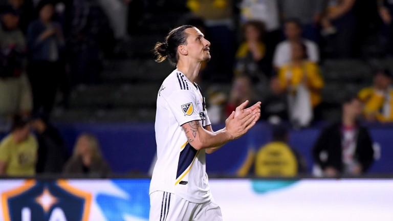 LA Galaxy's Zlatan Ibrahimovic