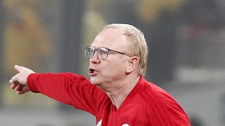 Alex McLeish's Scotland struggled against Peru