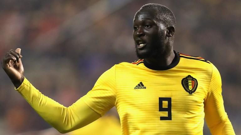 Romelu Lukaku is set to lead the line for Belgium