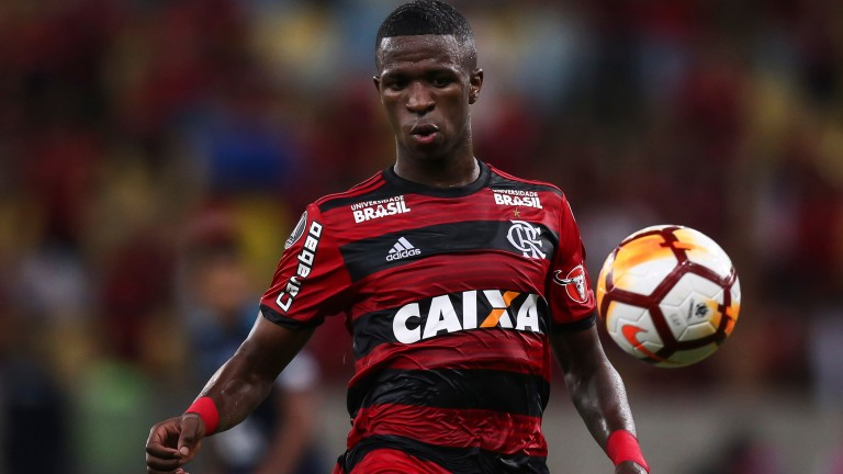 Vinicius Junior of Flamengo