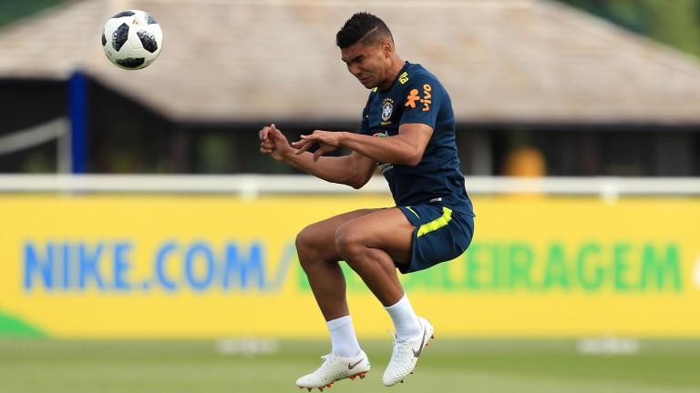 Brazil midfielder Casemiro of Brazil is available for the friendly against Croatia