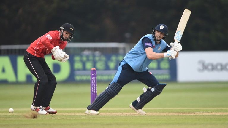 Billy Godleman has led Derbyshire to the top of the North Group
