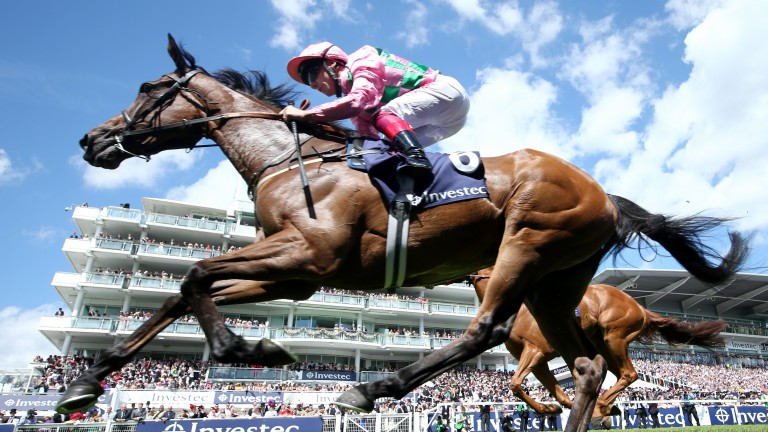 Wilamina: first-crop daughter of Zoffany won the Princess Elizabeth Stakes at Epsom