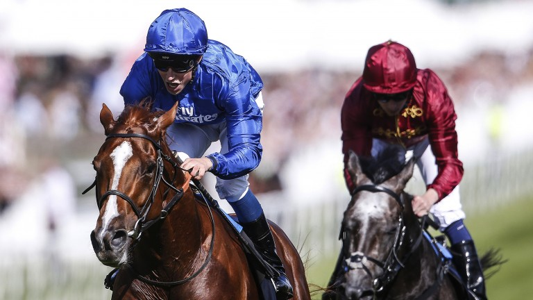 Masar: the Derby winner heads the Cartier Horse of the Year early standings