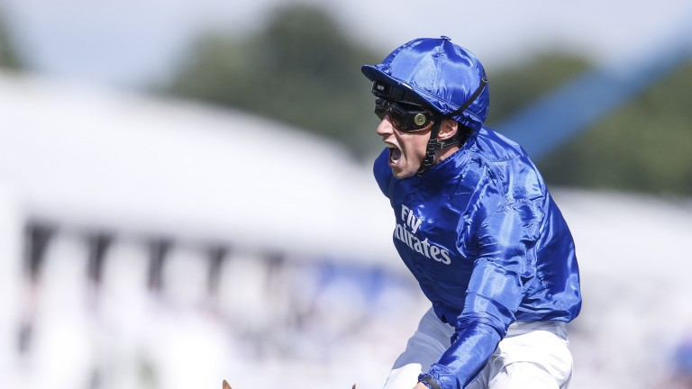William Buick scored aboard Crown Walk in the Prix Chloe at Chantilly on Monday