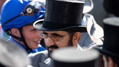 Sheikh Mohammed: racing superpower was at Epsom to see Masar strike