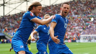 Gylfi Sigurdsson (right) is crucial to Iceland's chances
