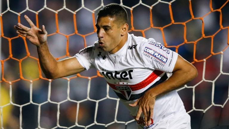 Diego Souza of Sao Paulo