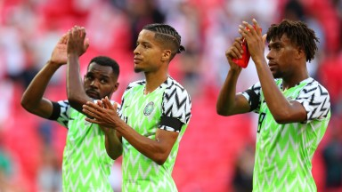 Nigeria have got a very snazzy shirt