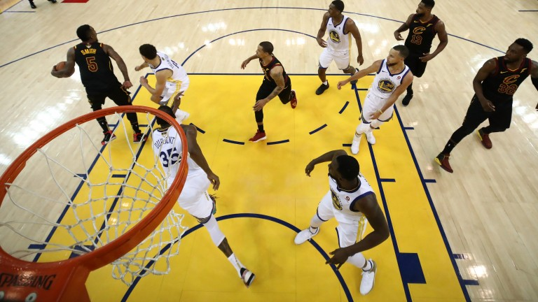 Golden State have won the first two games of the NBA Finals at home