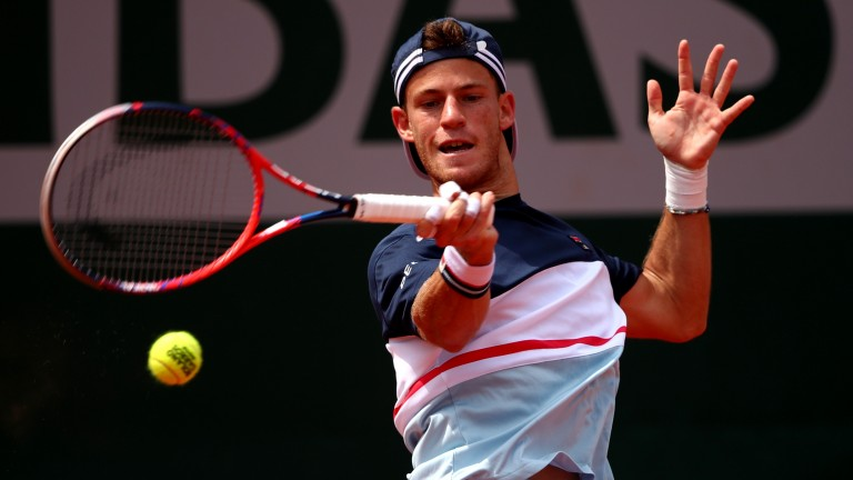 Diego Schwartzman overcame a slow start to defeat Kevin Anderson in round four
