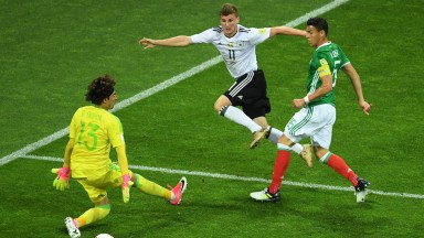 Germany beat Mexico in the semi-finals of last summer's Confederations Cup