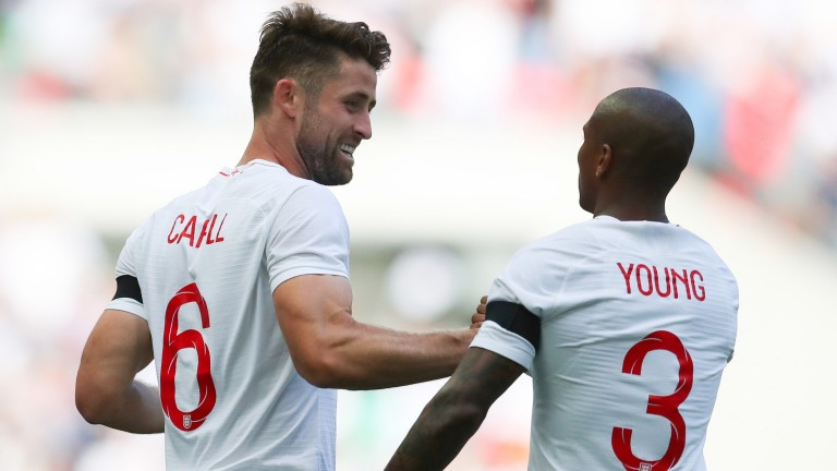 Gary Cahill scored for England against Nigeria