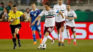 Andres Guardado leads a lively Mexico attack