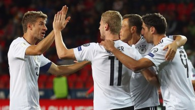 Germany won every game in qualifying but tougher tests await