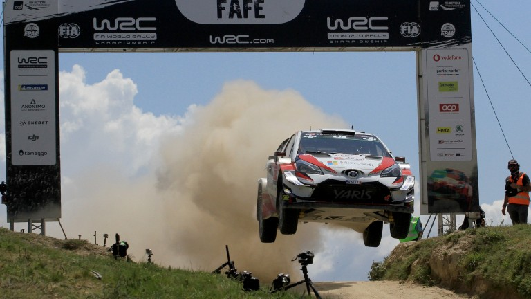Esapekka Lappi's Toyota leaps in Portugal