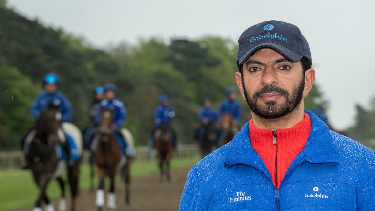 Saeed bin Suroor: will hope that at least one of his runners shines at Kempton