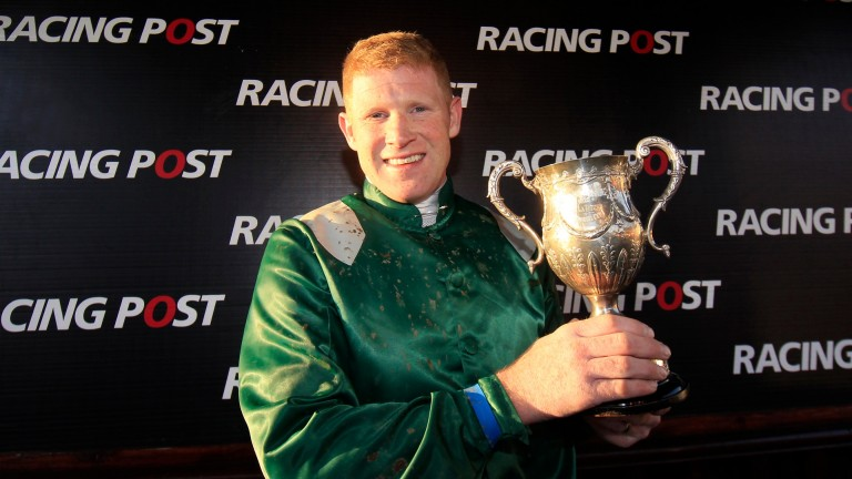 Colman Sweeney, pictured after winning the Racing Post Champion Chase at Punchestown in 2013, recalls scoring on Denman in the pointing field