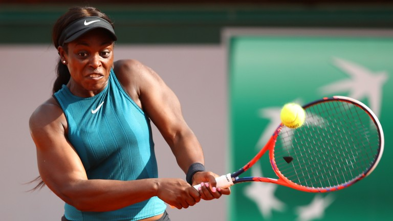 Sloane Stephens could return to an attacking game-plan after adopting a defensive stance in her semi-final