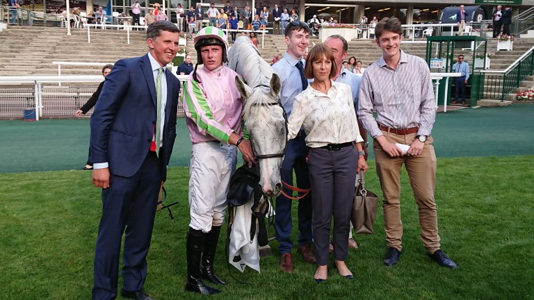 No strangers to success in France: Baie Des Iles won the Grade 2 Prix des Drags at Auteuil for Ross O'Sullivan