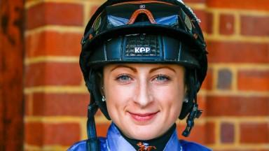 Nicola Currie, who rides Malaysian Boleh at Brighton on Monday