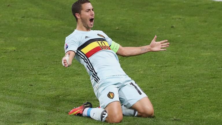 Belgium talisman Eden Hazard