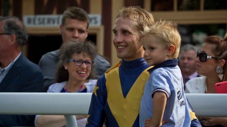 Aurelien Lemaitre has worked his way up from apprentice to stable jockey with Freddy Head over the course of ten years