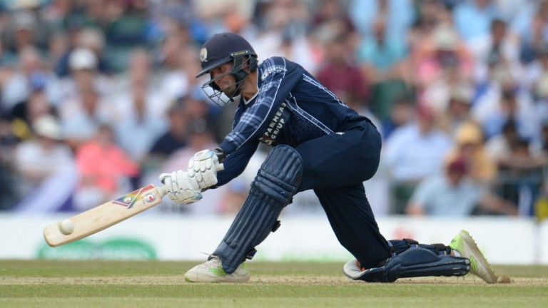 Scotland's Calum MacLeod scored a stunning century against England