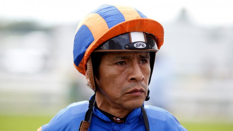 US Hall of Fame jockey Edgar Prado, pictured here at York in 2015, turns 51 on Tuesday
