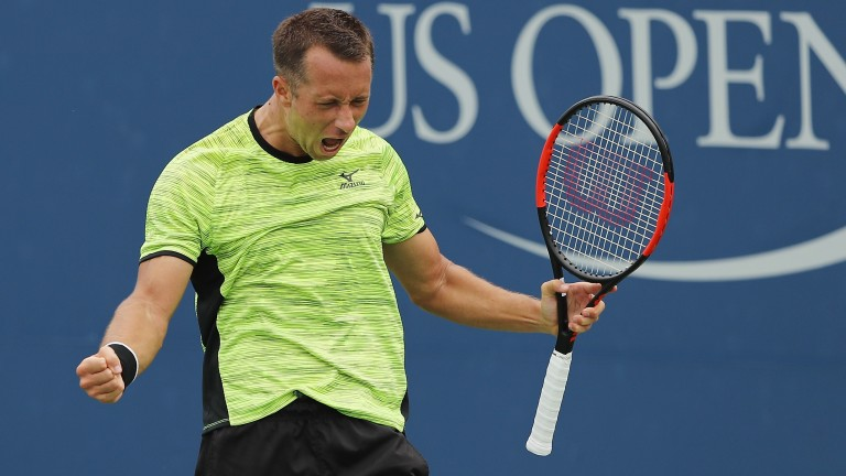 Philipp Kohlschreiber is playing his best tennis for years