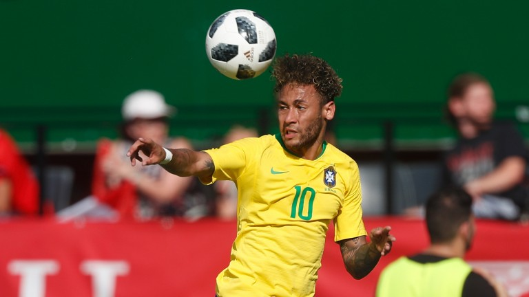 Brazil talisman Neymar confirmed his fitness with a goal against Austria on Sunday