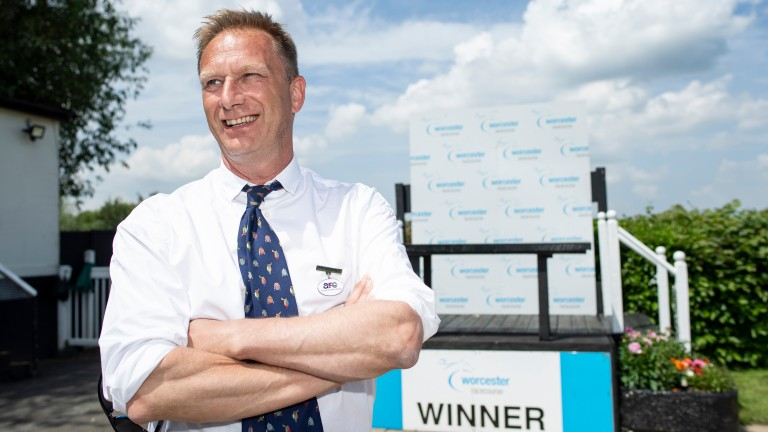 Martin Cruddace: the Arc chief executive was at Worcester on Monday following recent criticism
